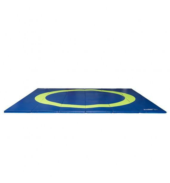 FOLDING WRESTLING MAT FOR BEGINNERS - 600 x 600 x 4 cm