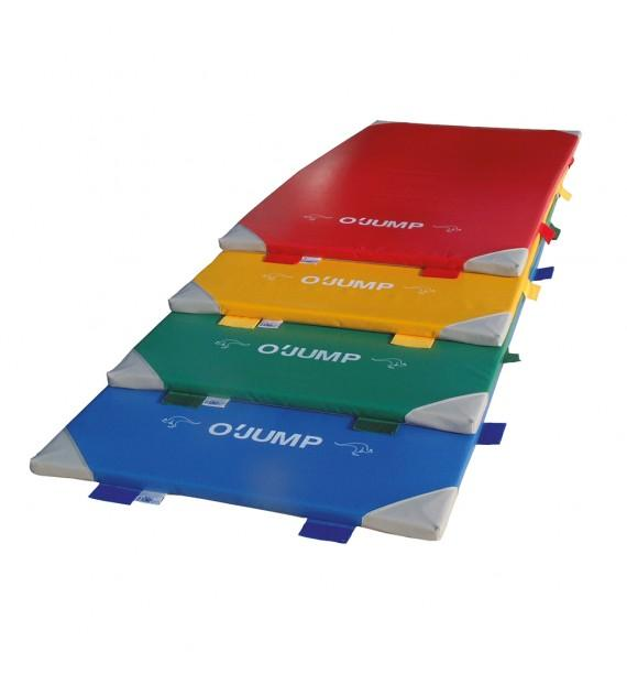 SHOCK-ABSORBENT MAT - 200 x 100 x 4 cm Colors available: grey, red, yellow, green, blue, dark blue