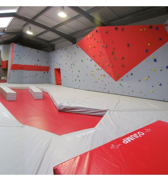 MAT FOR INDOOR ROCK ROOMS - 250 x 250 x 30 cm