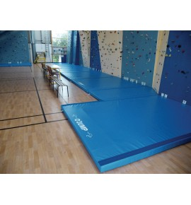 MADE-TO-MEASURE MAT AREA FOR CLIMBING WALLS - THICKNESSES: 10 CM