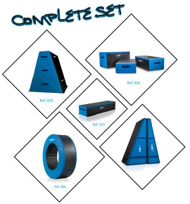 COMPLETE SET OF ALL THE URBAN GYM MODULES