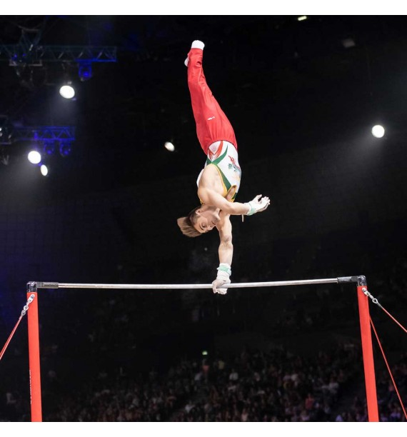 MONTREAL COMPETITION HIGH BAR - STANDARD CABLE - FIG Approved