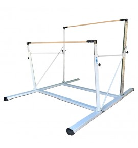 EPS COMPACT ASYMMETRIC BARS - FIXED FEET - WITH TRANSPORT TROLLEY