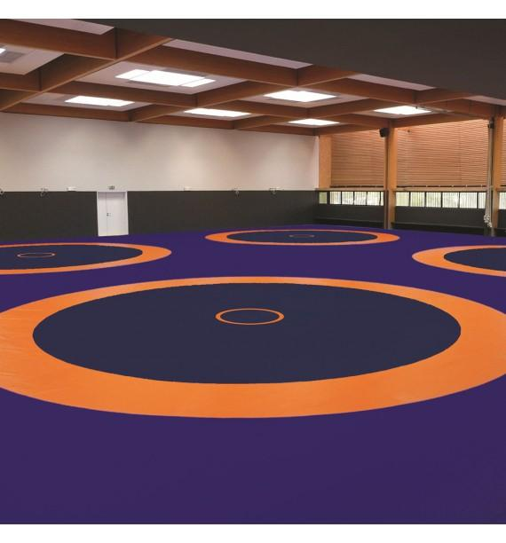 COMPETITION WRESTLING MAT - 1000 x 1000 x 6 cm